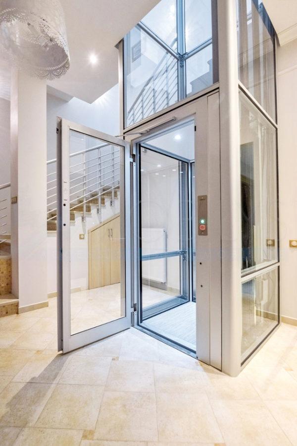 ascenseur de maison en pylone