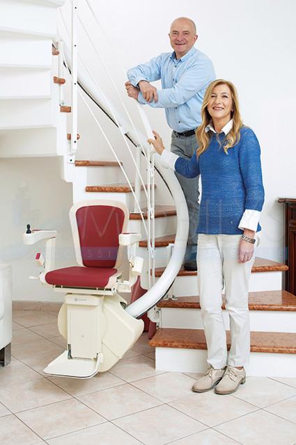 Le monte-escalier qui vous rend la vie plus facile