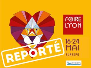 Report de la foire de Lyon 2020