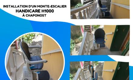 Votre Monte escalier HAndicare1000 pour l'extérieur