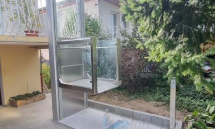 installation d'une plateforme PMR à Iriginy(69)