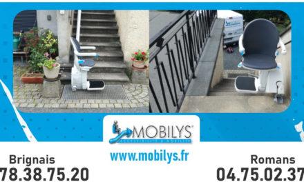 Installation d'un siège monte escalier à Messimy (69)